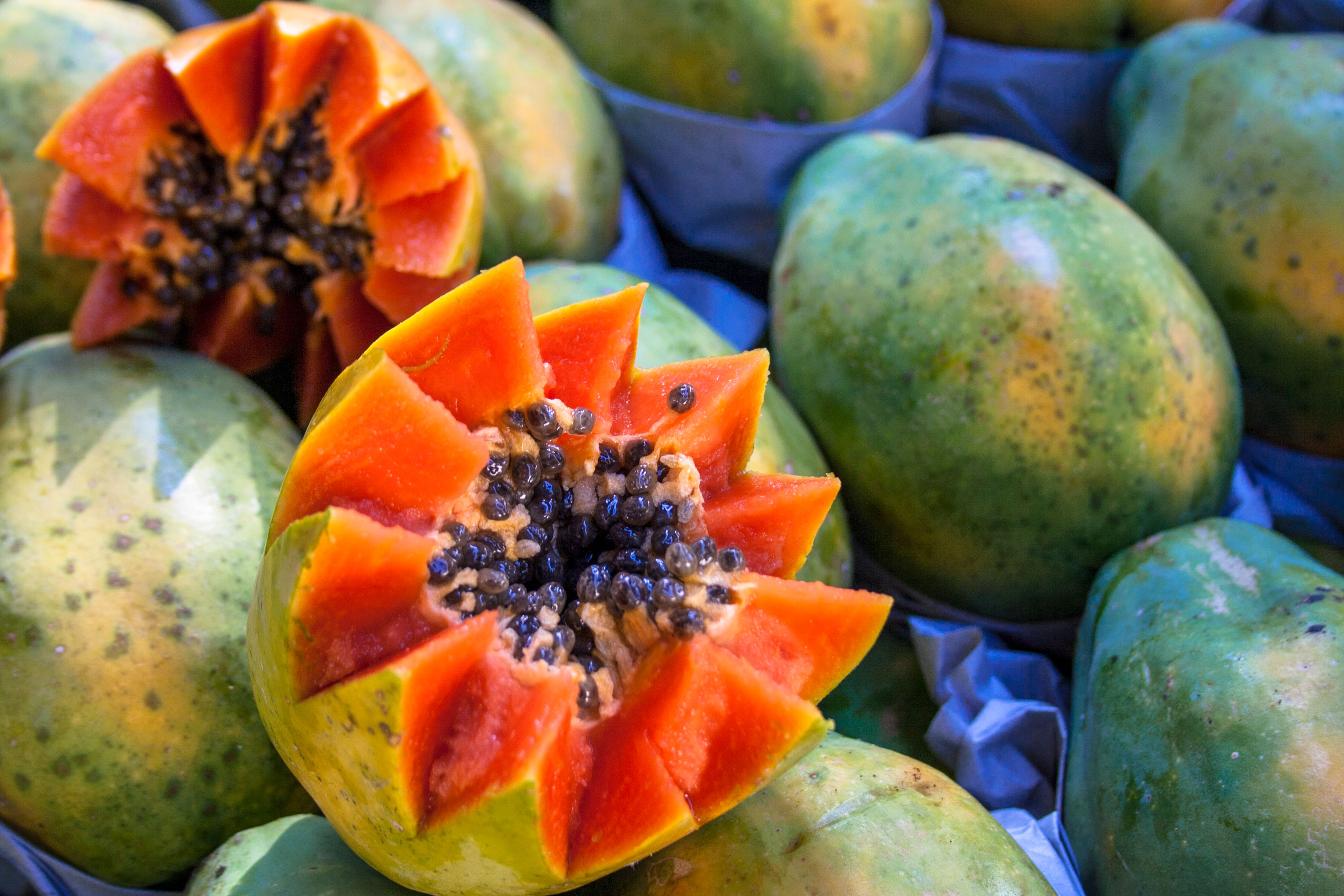 Ripe Papayas are simply good for you